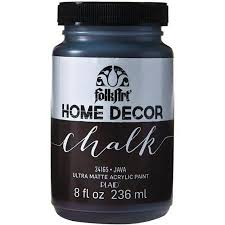 buy folkart home decor chalk paint 8oz java in cheap price on