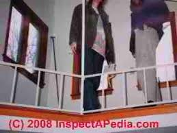 Banister On Stairs Guardrails Guide To Guard Railing Codes Specifications Heights