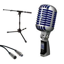 mic stand table attachment shure super 55 deluxe vocal microphone tripod mic stand with fixed