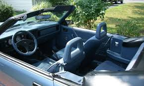 86 Mustang Gt Interior 1986 Ford Mustang Convertible News Reviews Msrp Ratings With
