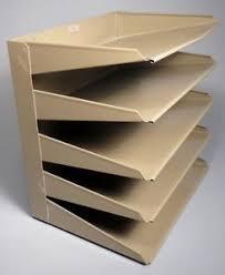 5 shelf desk organizer industrial metal mid century vintage 5 shelf desktop organizer file