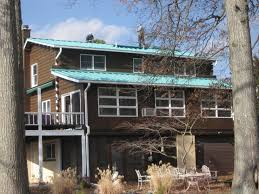 Metal Roof Homes Pictures by Standing Seam Metal Roofing Roof Replacement In Pennsylvania