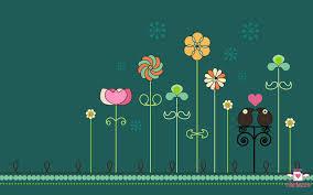welcome 2011 wallpapers spring garden wallpaper by mllemlesucre on deviantart