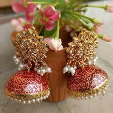 buttalu earrings gorgeous pearl buttalu designs