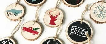 wood slice ornaments ar workshop worthington