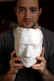 plaster of paris mask art teacher resources pinterest face