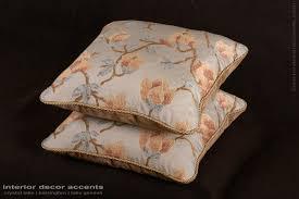 travers jacobean brocade kravet velvet elegant decorative pillows