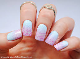 easy abstract nail designs best nail 2017 pink and white french