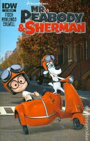peabody sherman 2013 idw comic books