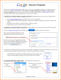 Create An Online Resume Google Resume Templates Free Resume For Your Job Application