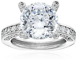 platinum sterling rings images Platinum plated 925 sterling silver quot 100 facets jpg