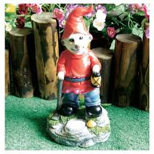 buy solar meerkat gnome with l from our solar lights range tesco