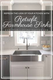 what size undermount sink for 33 inch base cabinet the best retrofit farmhouse sinks for your kitchen