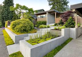 Front House Landscaping by Garden Makeover Ideas Pictures Modern Garden