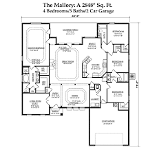 dr horton floor plan the mallory churchill spanish fort alabama d r horton
