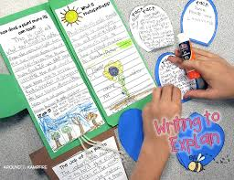 leaf shaped writing paper it s plantin time writing about science a freebie around the plant life cycle activities writing to define label research and explain