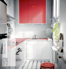 white red kitchen ikea interior design ideas