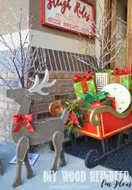diy wood reindeer diy wood free printable and woods