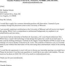 cover letter internship opening internship cover letter 5 professional samples u0026 formats