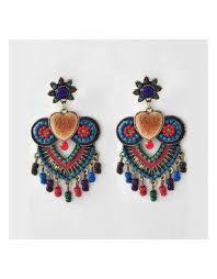 Colorful Chandelier Earrings Multi Color Chandelier Foter