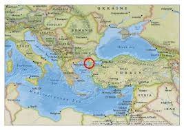 Map Of Mediterranean Europe by Spatial Aspects Of Gallipoli U2013 The Big Picture Gis Blog