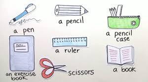 was heiãÿt sofa auf englisch school things vokabeln zu schulsachen englisch lernen