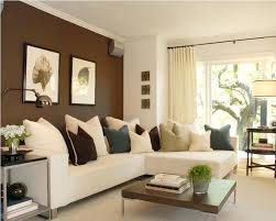 color combination with white brown paint living room dark brown and white wall paint color