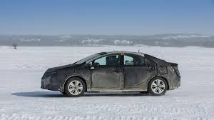 lexus canada news toyota fuel cell prototype undergoes cold weather testing in