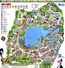 cedar fair parks map park maps paramount vs cedar fair amusement industry