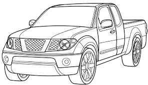 cars trucks coloring pages coloring pages free