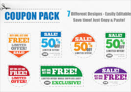 sample coupon template 43 documents in psd vector