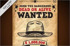 45 printable wanted poster templates free pdf psd designs