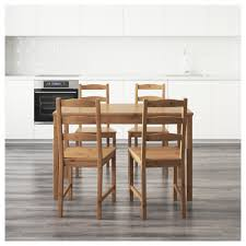 Wood Dining Room Tables And Chairs by Jokkmokk Table And 4 Chairs Ikea