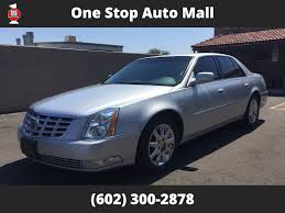 2011 used cadillac dts 2011 cadillac dts premium 4dr sedan at one