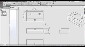 tutorial solidworks planos de fabricacion planos de produccion con