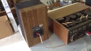 Mission 700 Bookshelf Speakers Mission Mk Ii Model 70 Bookshelf Speakers For Sale Youtube