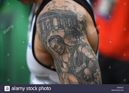 ferrari horse tattoo tattoo session stock photo royalty free image 82298080 alamy
