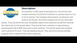The Kitchen Collection The Kitchen Collection Inc Corporate Office Contact Information