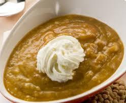 cuisine lentilles vertes crème de lentilles vertes du puy recette de crème de lentilles