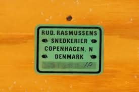 mid century oregon pine bookcase by mogens koch for rud rasmussen