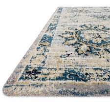 Grey And Turquoise Rug Loloi Torrance Rug Grey U0026 Navy Tc 05 Transitional Area Rugs