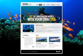website bug report template free website template diving club zoom in