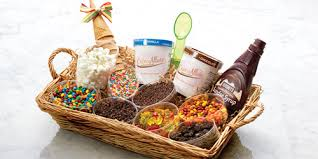 Gift Basket Ideas For Raffle Long Island Dessert Gift Basket U0026 Ice Cream Delivery Creme Allure