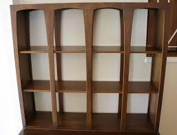 bookcase room partition pine timber wooden room divider bookcase
