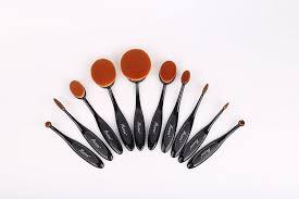 amazon com messon 10 pcs makeup brush cosmetic foundation