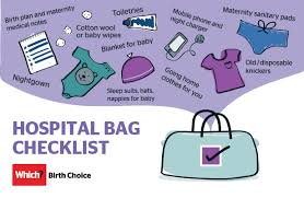 Top 10 Must Pregnancy Essentials by What To Pack In Your Hospital Bag Which
