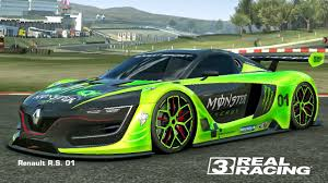 renault rs01 real racing 3 mod skin livery vinly 2014 renault sport rs01 skin