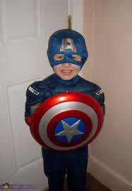 Captain America Halloween Costume Kids Captain America Costume