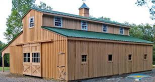 large horse barn floor plans monitor modular horse barn monitor barn horizon structures