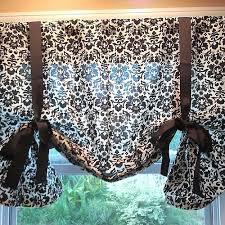 diy kitchen curtains lovely diy kitchen curtains no sew taste